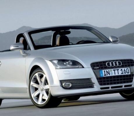 Новый Audi TT Roadster тестируют на Нюрбургринге