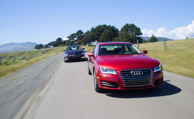 Audi A7 vs. Mercedes-Benz CLS