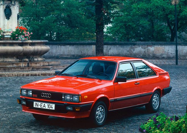 Audi Coupe GL/GT B2/Typ 85 (1980-1984)