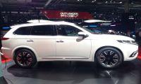 Mitsubishi представил новый электрокроссовер Outlander PHEV Concept-S