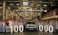 Российский завод Renault выпустил 100-тысячный Duster